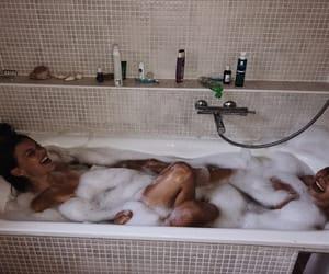 bath, chill, and fun image