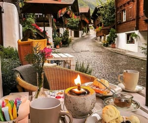 travel, breakfast, and coffee image