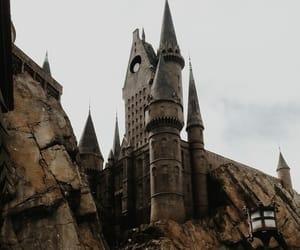 article, blue, and hogwarts image