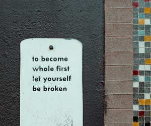 broken, first, and frases image
