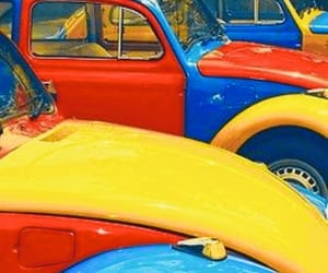 car, red, and yellow image