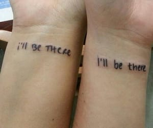 friendship, goals, and tattoo image
