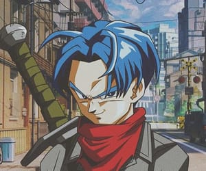 dragon ball, dbz, and mirai trunks image