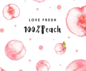 fruit, peach, and peachy image