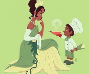 princess, tiana, and disney image