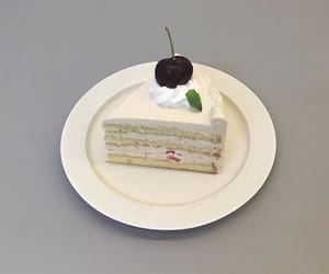 aesthetic, cake, and cherry image