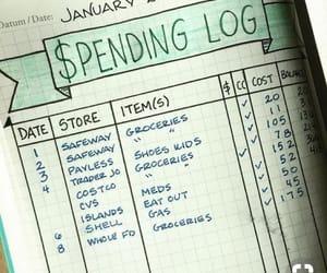 gastos and bullet journal image