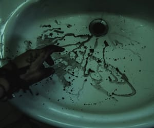grunge and sink image