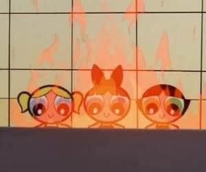 cartoon and powerpuff girls image