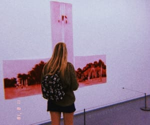 80s, girl, and pink image