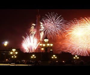 fireworks, france, and tour eiffel image