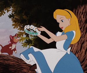 disney, alice, and alice in wonderland image