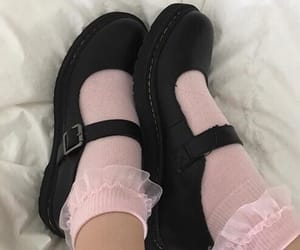 daddy, martens, and pink image