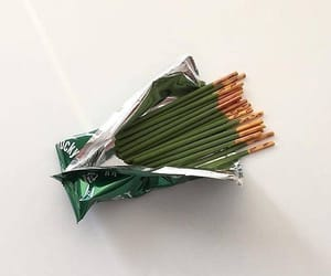 green, aesthetic, and pocky image