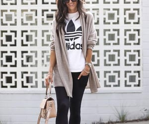 adidas, cardigan, and clothes image
