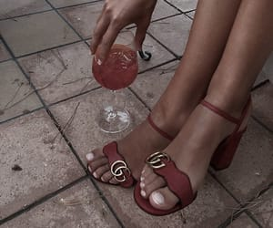 drinks, fashion, and red image