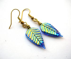 etsy, wire, and simple earrings image
