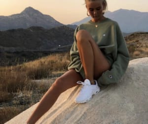 fashion, sweater, and tanned image