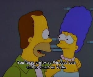 the simpsons, homer, and star wars image