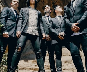 band, kellin quinn, and jack fowler image