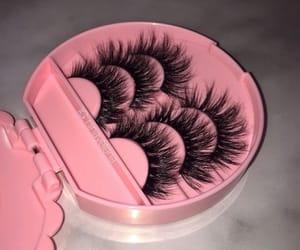 lashes, makeup, and eyelashes image
