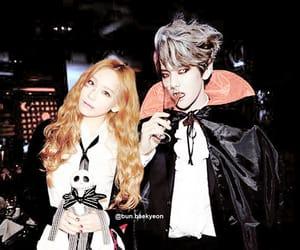 couple, dating, and baekyeon image