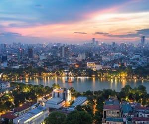 hanoi, travel, and Vietnam image