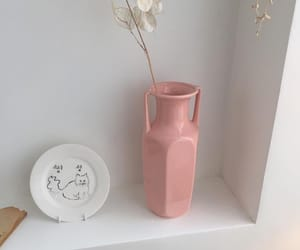 aesthetic, flower, and pink image