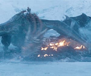 dragon, gif, and the great war image