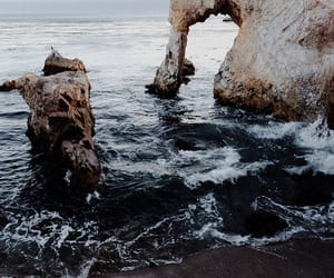 beach, beauty, and erosion image