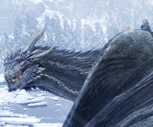 dragon, The Others, and game of thrones image