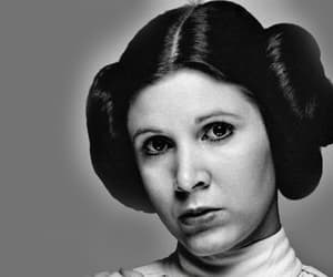 carrie fisher, star wars, and leia organa image