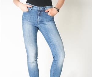 fashion, skinny jeans, and jeans image