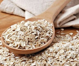 breakfast, healthy, and oats image