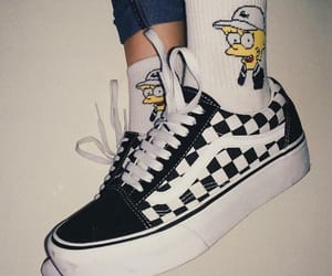 vans, outfits, and shoes image