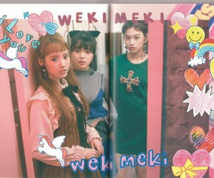 lucky, doyeon, and weki meki image