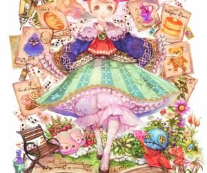anime, games, and little girl image