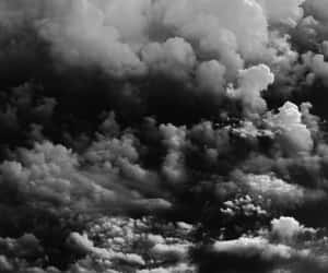 black, clouds, and texture image