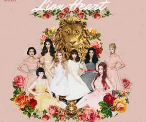 album, gg, and lion heart image