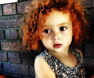 baby, children, and curly hair image