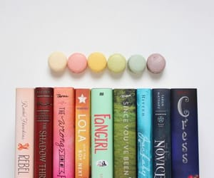 books, pastel, and colors image