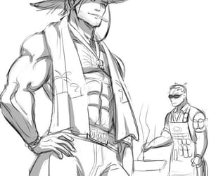 overwatch, soldier 76, and jesse mccree image