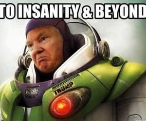 trump's space force, the air force, and it is their job image