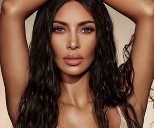 beauty, kim, and makeup image