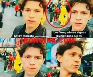 Avengers, tom holland, and divertido image