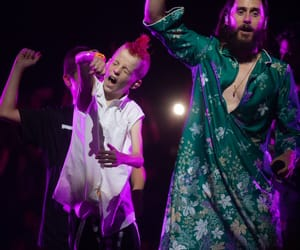 30 seconds to mars, jared leto, and kids image