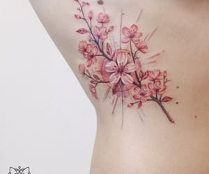flower, tatto, and Tattoos image