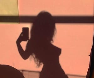 aesthetic, girl, and shadow image