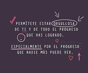feliz, frases en español, and orgullosa image