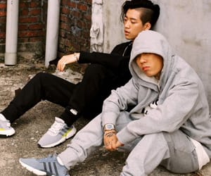 kpop, rapper, and swag image